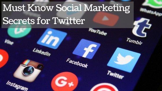 Social Marketing Secrets for Twitter